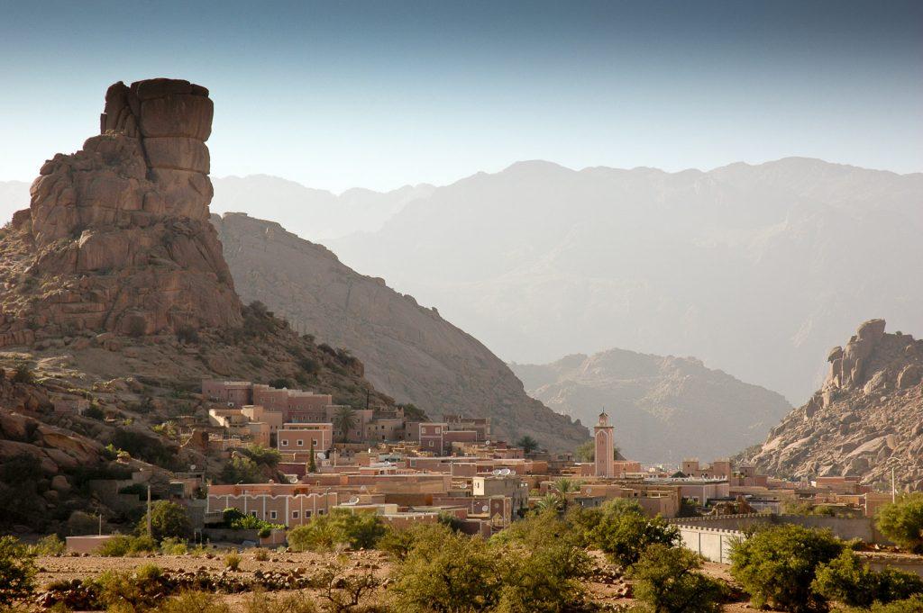 Maroko, południe kraju