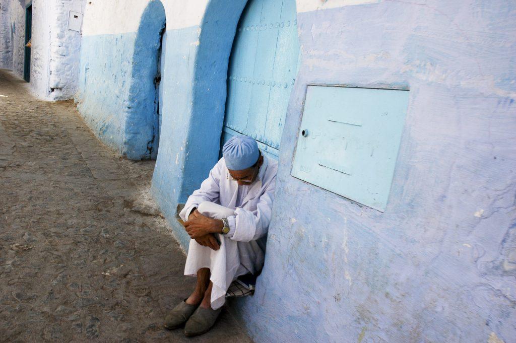 Chefchaouen, Maroko. Góry Rif.