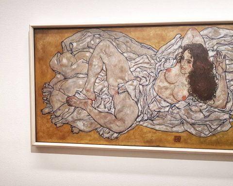 Erotyka w malarstwie Egona Schiele