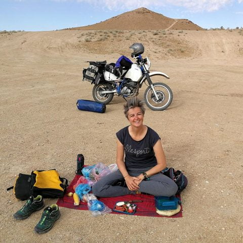 Maja Sontag podróżuje motocyklem przez świat