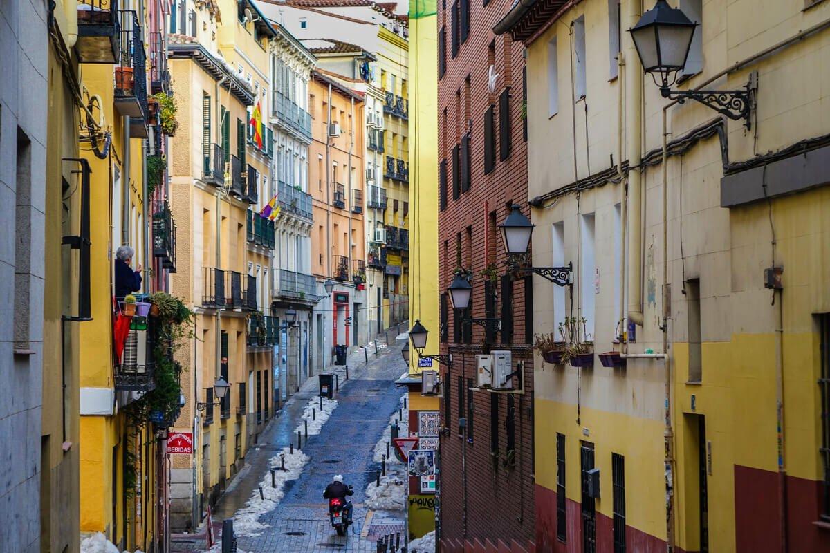 madryt - dzielnica Lavapies - Hiszpania