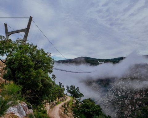 portugalia - najdłuższy most wiszący