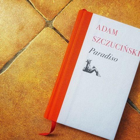 paradiso adam szczuciński ksiązka widok okładki